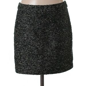Textured zipper skirt by Gap sz 4